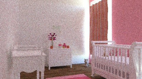Baby Girl Nursery - Vintage - Kids room  - by cara_98