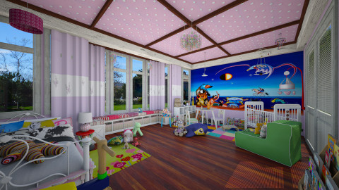 queen´s room - Kids room  - by Conchy