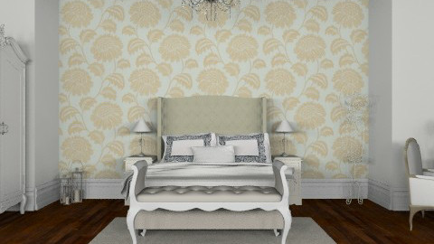 Queen Anne-tique - Classic - Bedroom  - by Abdallah Alayan