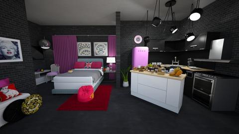 MAAM - Rustic - Living room  - by marielisa2323