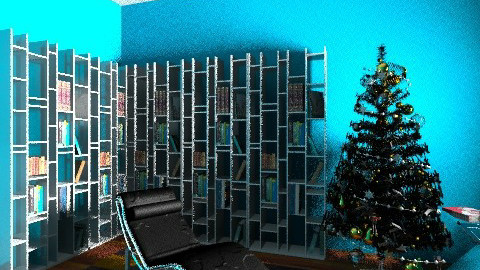 readingroomchristmas - by de Gasperis Sarah