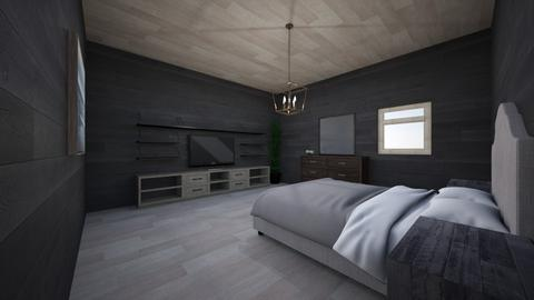 dark room - Modern - Bedroom  - by marhog0813