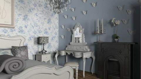 vintage - Vintage - Bedroom  - by miruszka