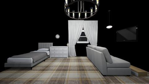 Anas bedroom - Bedroom  - by YOT_D