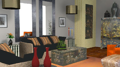 Eclectic - Eclectic - Living room  - by tingo