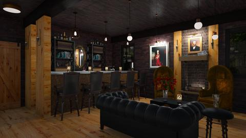 Moody Home Bar - Masculine - by ANM_975