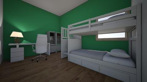 Cuarto - Minimal - Bedroom  - by valentina34