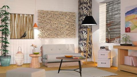 Bamboo - Eclectic - Living room  - by Sally Simpson