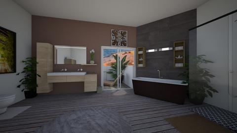 natural bathroom - Bathroom  - by nikolilelinka