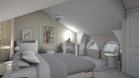 Soft loft - Modern - Bedroom  - by augustmoon