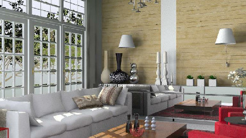 Relaxed Glamour - Glamour - Living room - by 3rdfloor