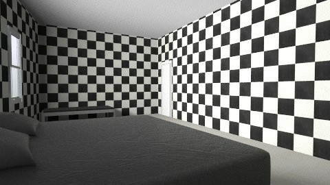 Black n White - Glamour - Kids room  - by Ishikaa Lunawat