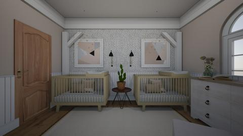 Twins Nursery - Kids room  - by daly5436