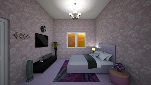 Bedside - Bedroom  - by Thamarine Rose Caitan
