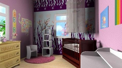 Baby room - Vintage - Kids room  - by Designerloft