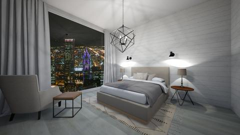 city view hotel room - Bedroom - by slm4278