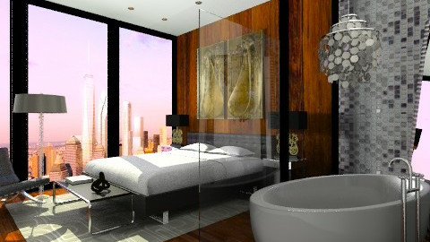 Luxury  and Glamour - Glamour - Bedroom  - by sahfs