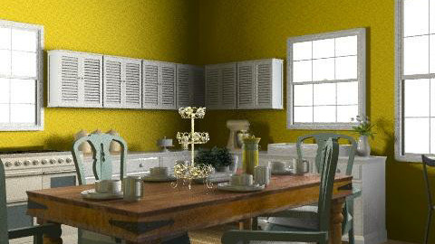 idk - Country - Kitchen  - by alenah