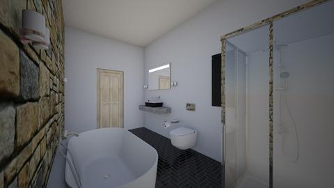 bahroom - Modern - Bathroom  - by Kikismith030607