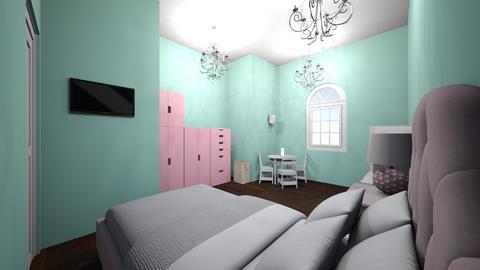 girls room - Modern - Kids room  - by jade1111