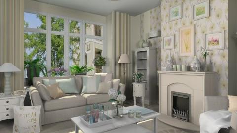 Pastel Living - Living room  - by Violetta V