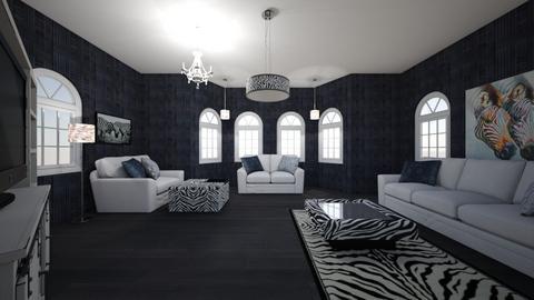 Zebra Living Room - Living room  - by ashleycdean