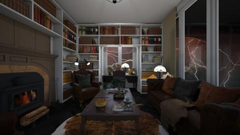 Stormy Home Office - Office  - by SammyJPili