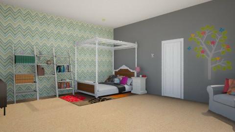 dream room - Bedroom - by Kaleen Smith