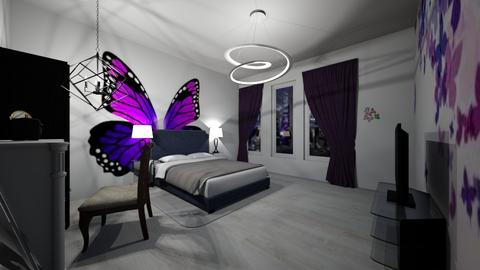 Butterfly - Bedroom - by Ayayako