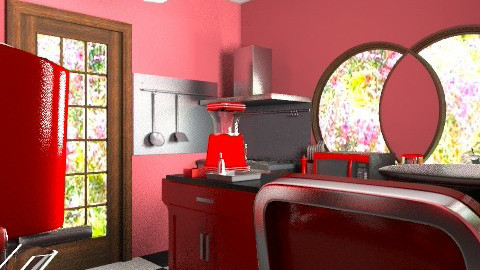 Kitchen - Retro - Kitchen  - by 1234ChAz