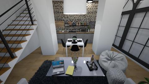 Main floor Industrial Apt - by ShadySkills13