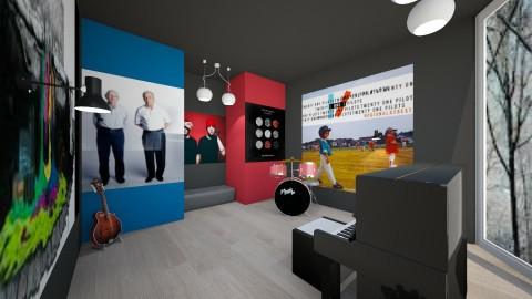 FCS room - Retro - by CeiaK
