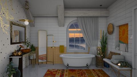 O W Bathroom - Bathroom  - by Nicky West