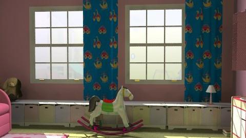 játszószoba/lányos rész - Classic - Kids room  - by Audrey17
