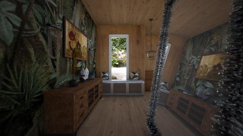 Woodroom - Living room  - by rechnaya