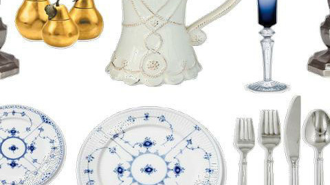 Thanksgiving via Copenhagen place setting - Classic - Dining room  - by Mieke ten Have