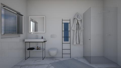 Love White - Minimal - Bathroom  - by Cartell