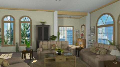 country home2 - Country - Living room  - by GALE88