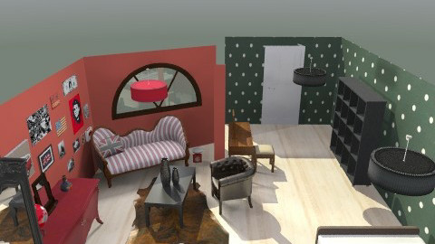 pöttyös - Country - Bedroom  - by agicacica