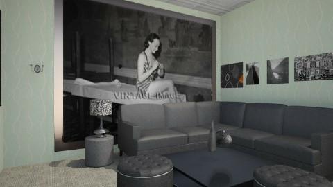 Asha_Living Room - Vintage - Living room - by AshaMiller