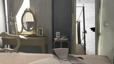 Marilyn Monroe Bedroom - Vintage - Bedroom  - by Lenii