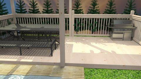 Simple outdoor space - Classic - Garden  - by LAF97