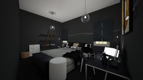 Teenage Bedroom 2  - Bedroom  - by Little_Laya