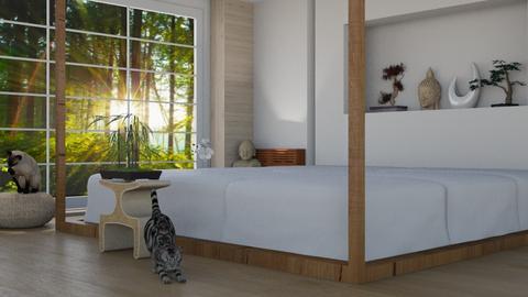 Feng Shui - Bedroom  - by UnicornSprinkle