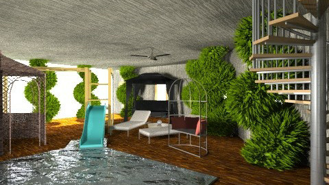 The Bro Cave - Classic - Garden  - by gregory442
