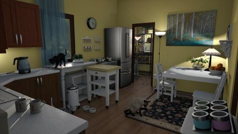 Lois - Retro - Kitchen - by anchajaya