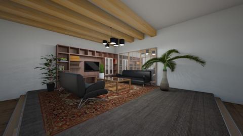 Platformed Living Room - Living room  - by MeenaC