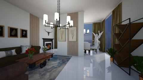 mino - Living room  - by Mounir HSSIN