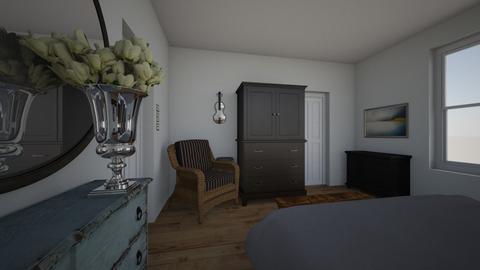 Bath 3 w_bed - Bedroom  - by acarter0017