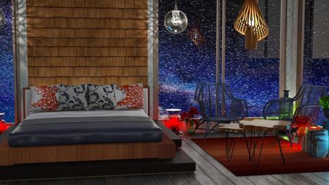 night sky bedroom - Bedroom  - by Moonpearl